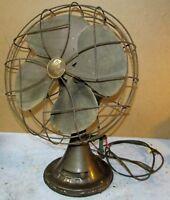 """Antique/Vtg EMERSON ELECTRIC 77646 AS 12"""" Table Fan J388"""
