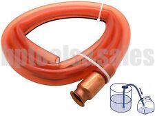 6 Ft Self Priming Transfer Fuel Water Oil Paint Copper Siphon Hose Jiggler Pump