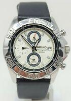 Orologio Seiko 7T62-0FV0 chrono watch alarm clock diver 100 meters montre seiko