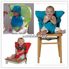 Sack'n Seat Baby Child Portable High Chair Seat Cover Belt with Shoulder Straps
