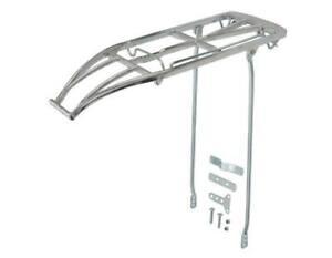 Silver Vintage Schwinn Bicycle Rat Trap Rear Rack Alloy Lightweight Repro Bikes