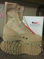New GI Issue Belleville Desert Hot Weather Army Combat Boots - 11R