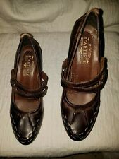 L'ARTISTE Brown Leather 8.5 M Mary Jane MAYBELLE EUR 39 Excellent used condition