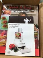 Open Box White Wolfgang Puck 7-Cup Food Processor - BFPr0007