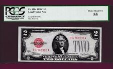 Fr.1504  $2 1928 C  LEGAL TENDER UNITED STATES NOTE SN B 17765990 A PCGS