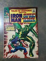 Tales of Suspense #84 FN-VF (1966) Marvel Comics~Iron Man Captain America