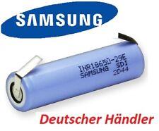 Samsung INR18650-29E - 18650 - 2900mAh 3.7V 3C m. Lötfahne U  ähnlich NCR18650PD
