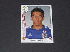252 HASEBE FC NÜRNBERG JAPON NIPPON PANINI FOOTBALL FIFA WORLD CUP 2014 BRASIL