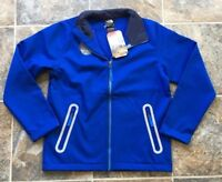 NWT The North Face Apex Bionic Honor Blue Fleece Zip Jacket Boys Youth sz Large