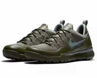 NIke Lupinek Flyknit Low Cargo Khaki Mica Green Men's 10 Womens 11.5 NIB NEW