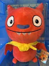 Brand New Ugly Dolls Large 40cm. Plush Soft Toy. Limited Qty. Red Lucky Bat.