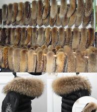 Cuello de mapache natural cuello de piel pelaje de piel piel real mapache collar