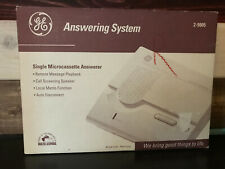 GE Ivory Answering System Microcassette 2-9805 NEW OLD STOCK in Original Box