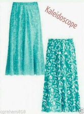 Polyester Floral Casual Flippy, Full Skirts for Women