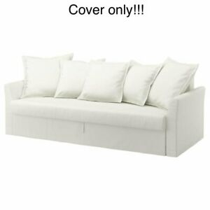 IKEA Holmsund cover for 3-seat sleeper sofa bed Ransta White 102.995.18