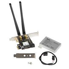 8265 Wireless AC Adapter Card Desktop PCIe Card Dual Band WiFi Bluetooth Combo