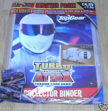 Topps BBC Top Gear Turbo Attax Trading Cards Game Starter Pack + Limited Edition