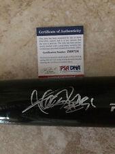 Ichiro Suzuki Signed/Auto Rawlings Full Size Bat Seattle Mariners 3K Hits PSA