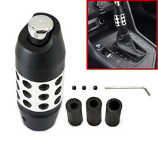 Black Alloy Aluminum Car Gear Shift Knob Stick Automatic Shifter Lever Universal