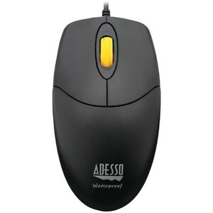 Adesso IMOUSE-W3 Waterproof Mouse w/ Magnetic Scroll Wheel