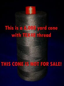 100 ft extra light DuPont KEVLAR® Sewing Thread (TEX40), strong, heat resistant