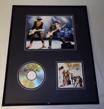 Zz Top Framed 16x20 Greatest Hits Cd & Photo Set