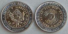 """Argentinien / Argentina 1 Peso """"200 Jahre Münzsystem"""" 2013 unz."""