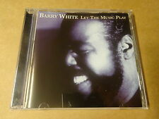 CD / BARRY WHITE - LET THE MUSIC PLAY