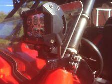 MHD Polaris RZR roll bar light bracket mounts powdercoated fits 800 900xp 570