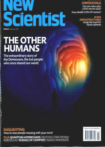 NEW SCIENTIST MAGAZINE 30th JANUARY 2021 ~ SPECIAL OFFER BUY ANY 6 ISSUES £10