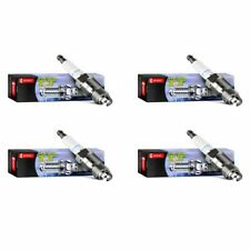 4pc DENSO 4503 Platinum Titanium TT Spark Plug Pre-Gapped PK16TT