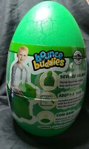Bounce Buddies Dragon Ride Toy Bouncing Ball Green Pump Included NEW Dinosaur 3+