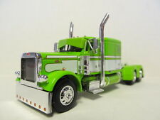 DCP 1/64 SCALE 379 PETERBILT 60'' BUNK LIME GREEN WITH WHITE SEMINOLE STRIPE