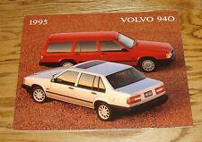 Original 1995 Volvo 940 Deluxe Sales Brochure 95