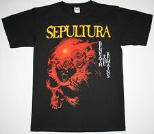 SEPULTURA BENEATH THE REMAINS SOULFLY CAVALERA DEATH METAL NEW BLACK T-SHIRT