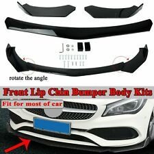 Universal Front Bumper Lip Body Kit Spoiler For Gmc Honda Civic Benz Mazda A Fits Cayenne