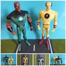 Mattel DC Justice League Green Lantern Flash Figure Lot Of 2
