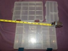 Plano and Infinite Plastic Fishing Tackle Boxes: Lot of 3.