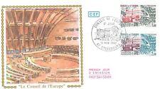 Enveloppe FDC 1er Jour CONSEIL DE L'EUROPE 1982