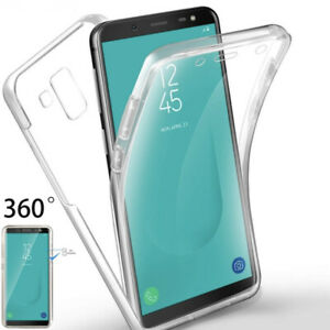 FOR SAMSUNG GALAXY J6 PLUS SHOCKPROOF CLEAR 360 FULL FRONT+BACK CASE J6 PLUS