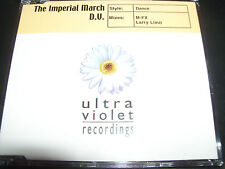 D.V The Imperial March Rare Australian Remixes Dance CD Single