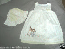 robe bob occasion disney bambi et panpan taille 9-12 mois en excellent etat