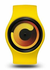 ZIIIRO Gravity Unisex Silikon Edelstahl Watch - Banana wechselbare Uhr