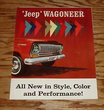 Original 1965 Jeep Wagoneer Style Color & Performance Sales Brochure 65