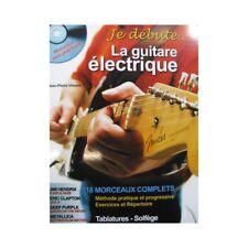 VIMONT Jean-Pierre Je débute La Guitare électrique 2007 partition sheet music sc