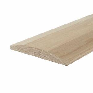 Solid White Oak Door Threshold Double Bevel Edge 0.9m