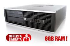 PC HP COMPUTER FISSO 8GB DDR3 RAM WINDOWS 10  DESKTOP RICONDIZIONATO RIGENERATO
