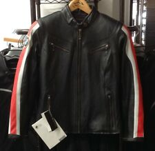BMW Women's Leather Club Jacket Black / Red Size XL #76148553472