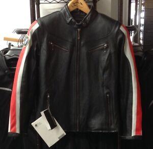 BMW Women's Leather Club Jacket Black / Red Size XL #76148553472