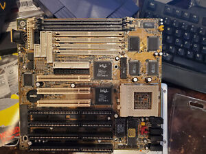 Vintage Biostar MB-8500TVD-A Motherboard untested